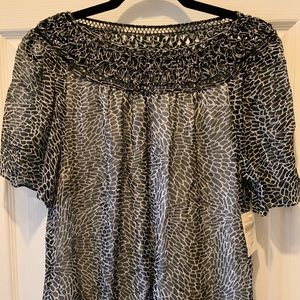 Coldwater Creek Serendipity Blouse